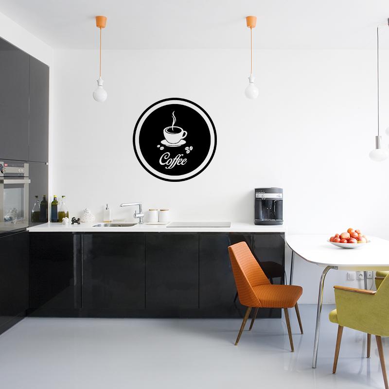 sticker cuisine design coffee stickers cuisine caf et th ambiance sticker. Black Bedroom Furniture Sets. Home Design Ideas