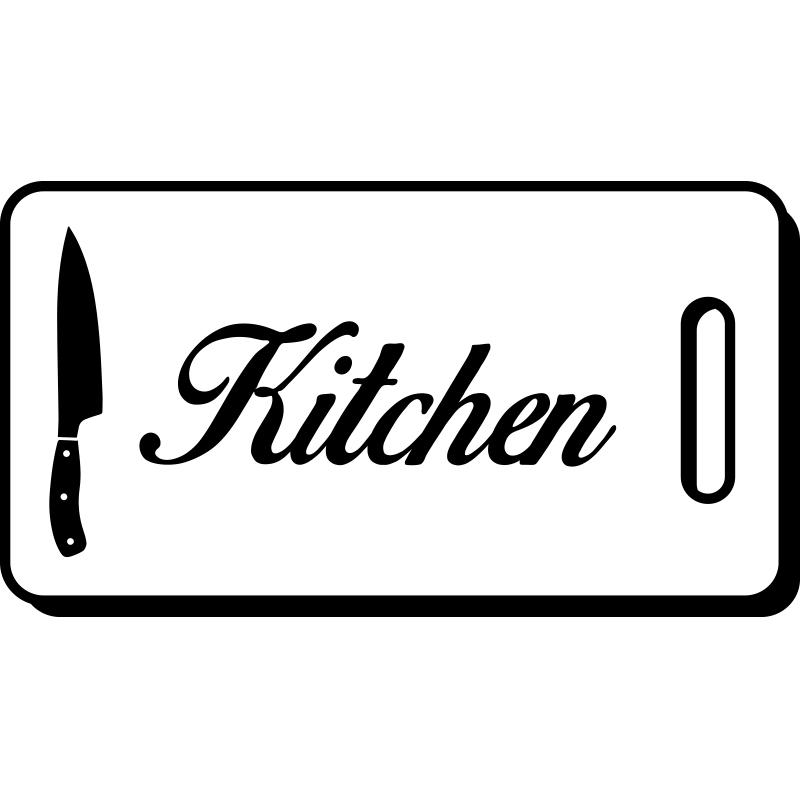 sticker cuisine design hachoir kitchen stickers cuisine textes et recettes ambiance sticker. Black Bedroom Furniture Sets. Home Design Ideas