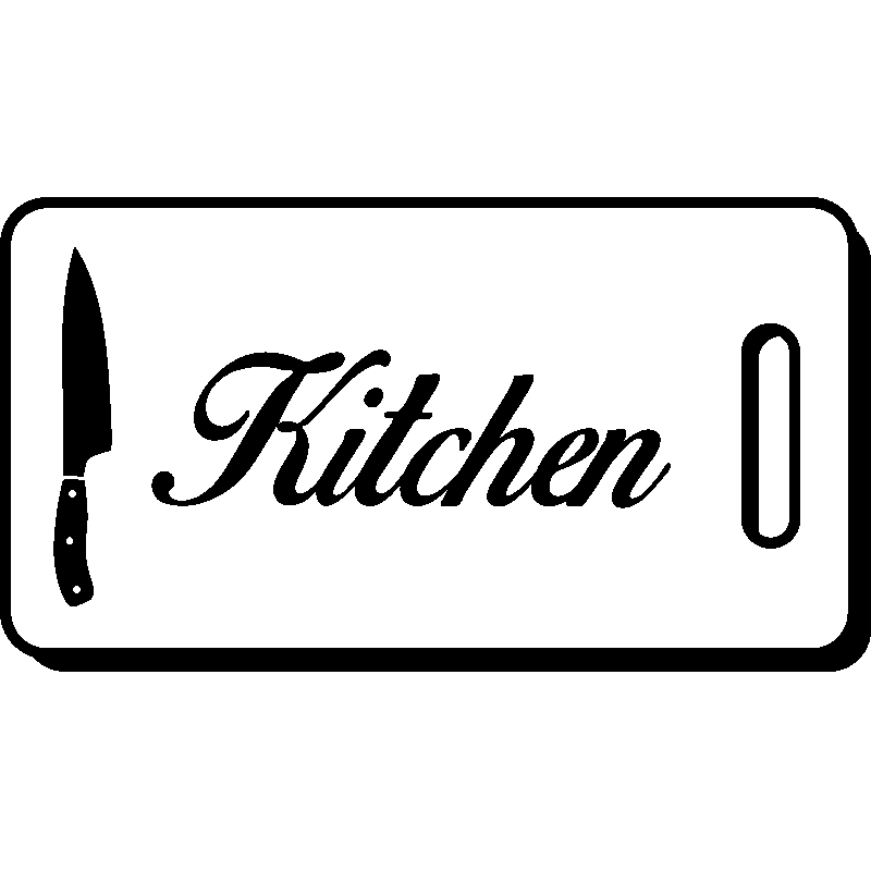 sticker cuisine design hachoir kitchen stickers cuisine textes et recettes ambiance sticker. Black Bedroom Furniture Sets. Home Design Ideas