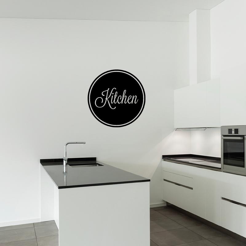 sticker cuisine design kitchen 2 stickers cuisine textes et recettes ambiance sticker. Black Bedroom Furniture Sets. Home Design Ideas