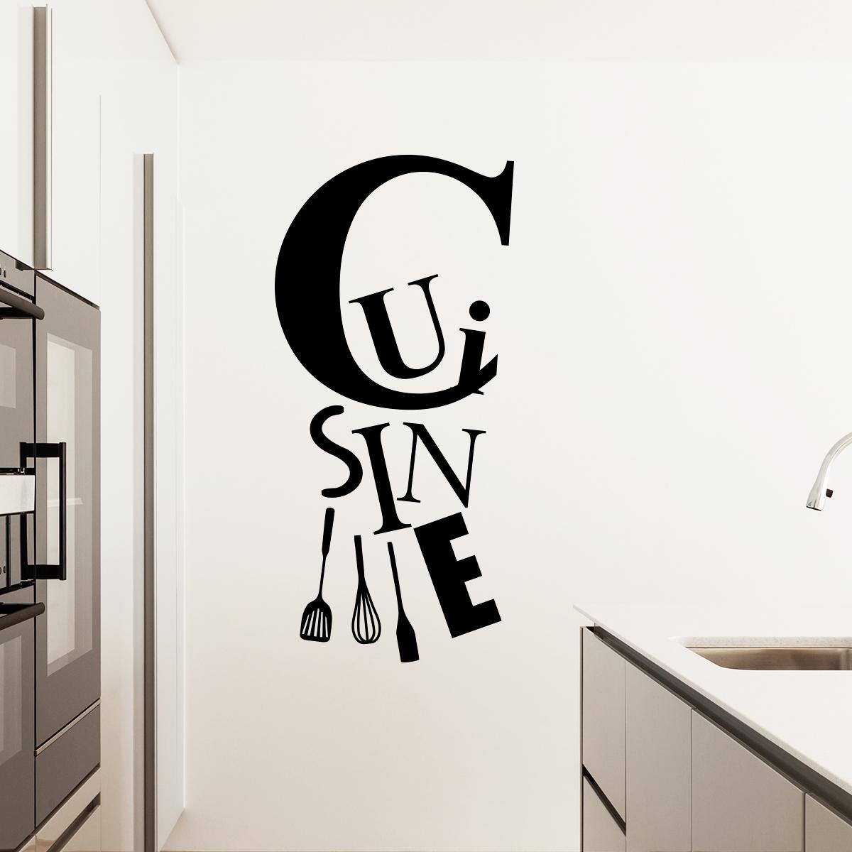 Sticker cuisine et les ustensiles stickers cuisine for Cuisine et ustensiles