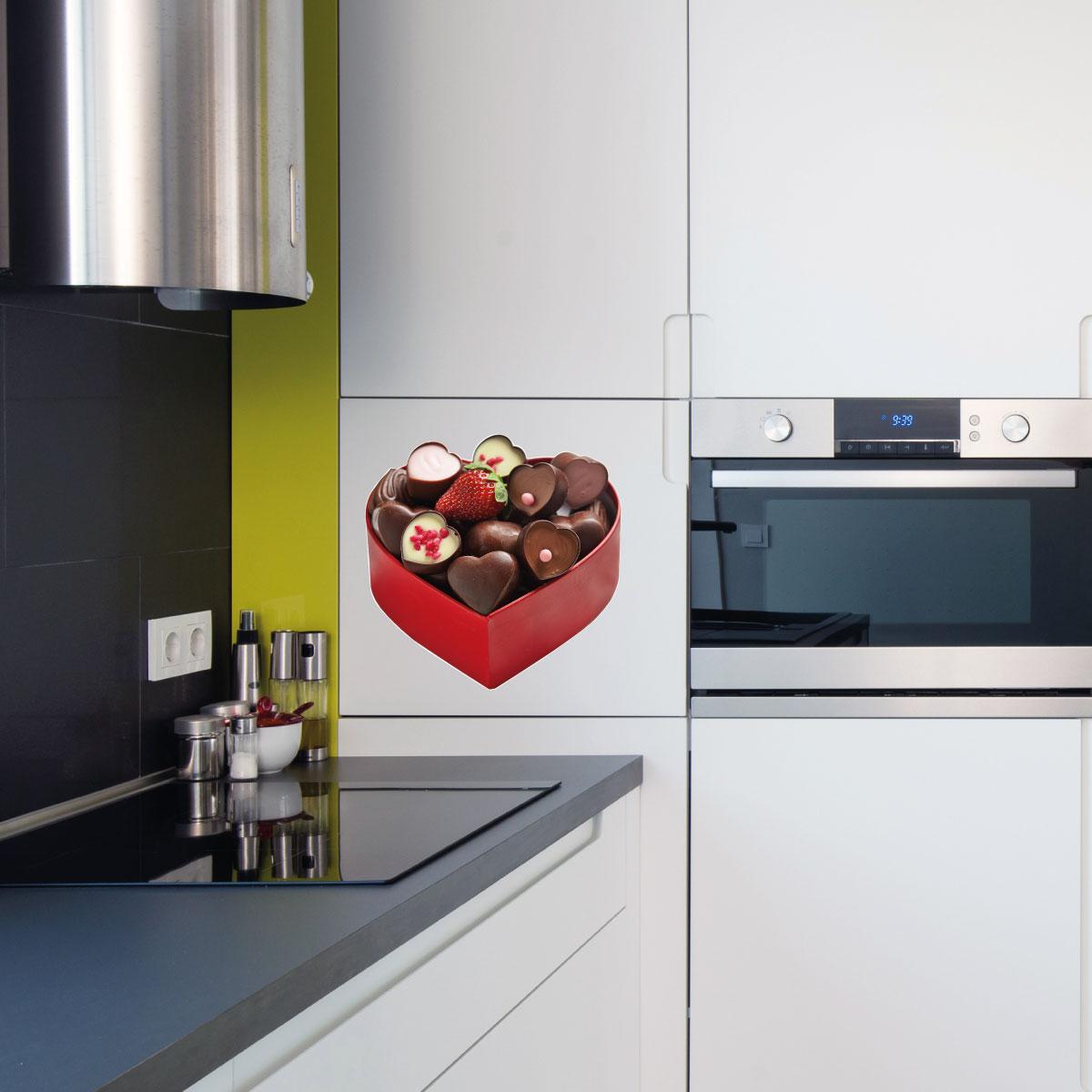 Stickers muraux pour la cuisine sticker bo te de - Stickers pour la cuisine ...