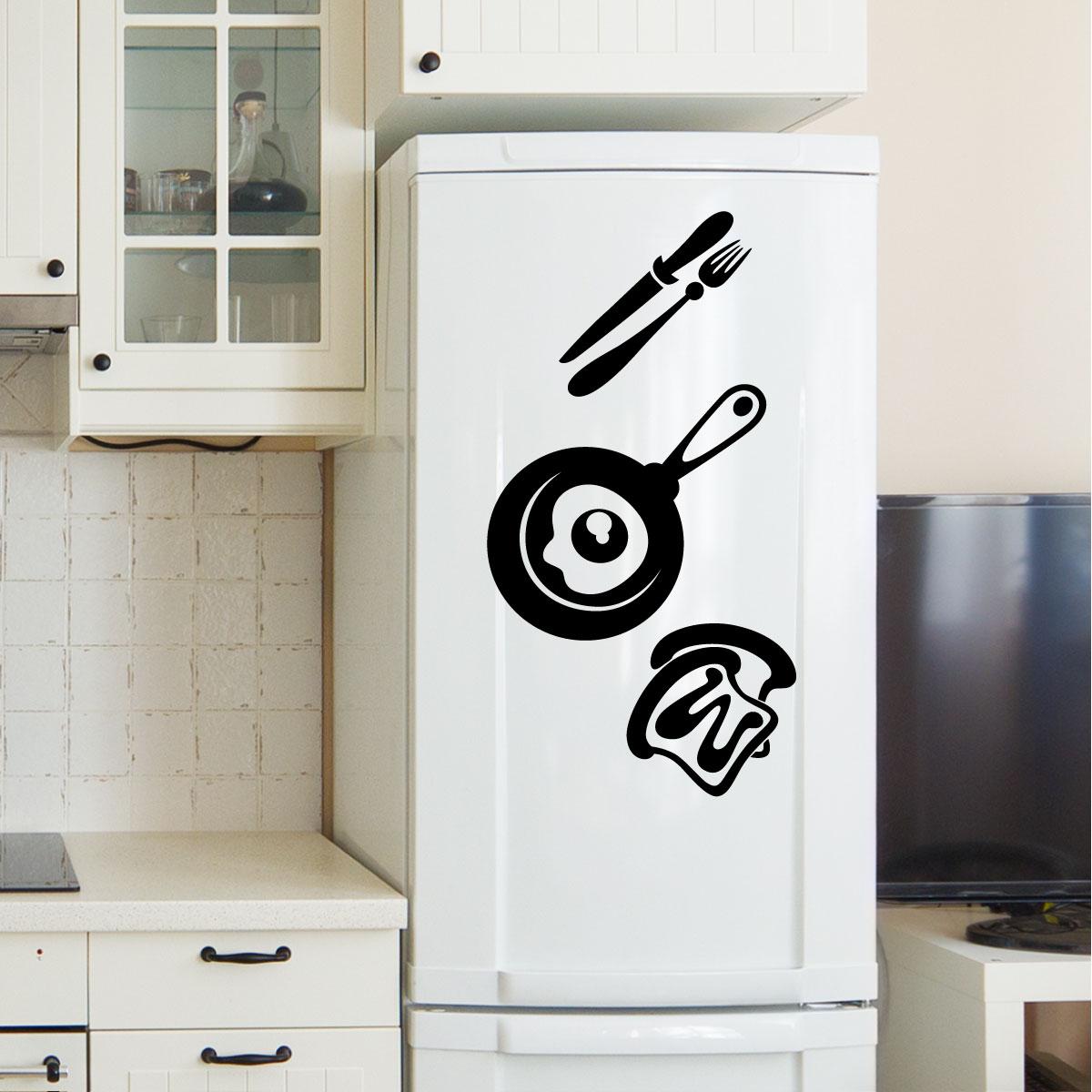 Stickers muraux pour la cuisine sticker d jeuner Stickers pour la cuisine