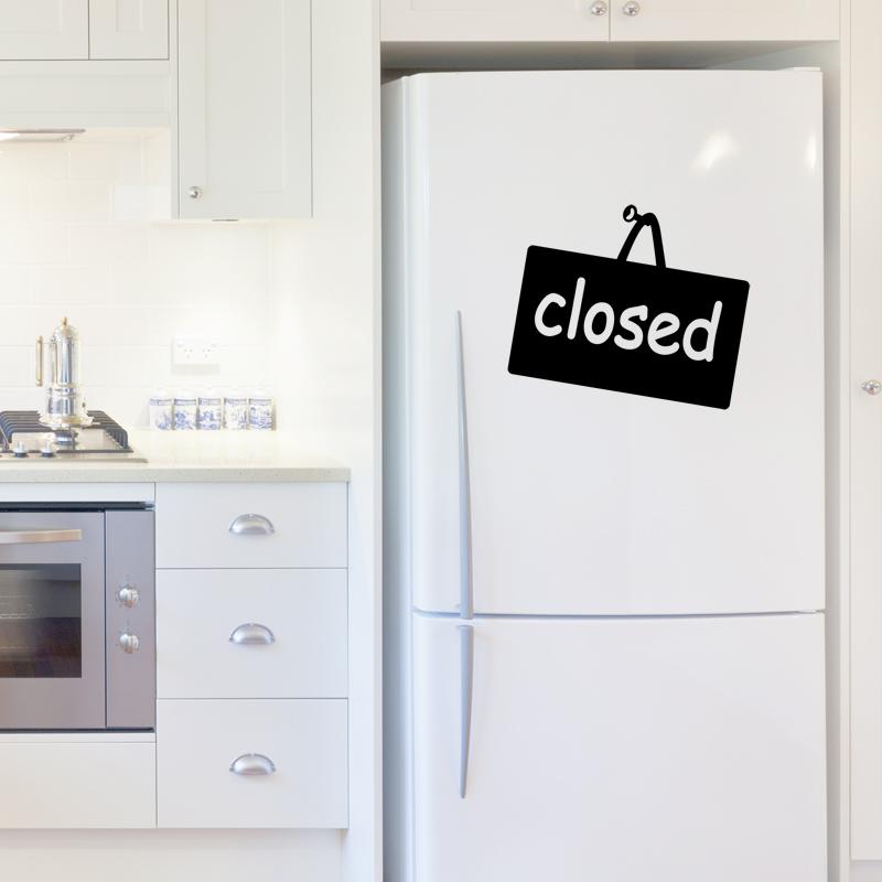 stickers muraux pour r frig rateur sticker ferm ambiance. Black Bedroom Furniture Sets. Home Design Ideas