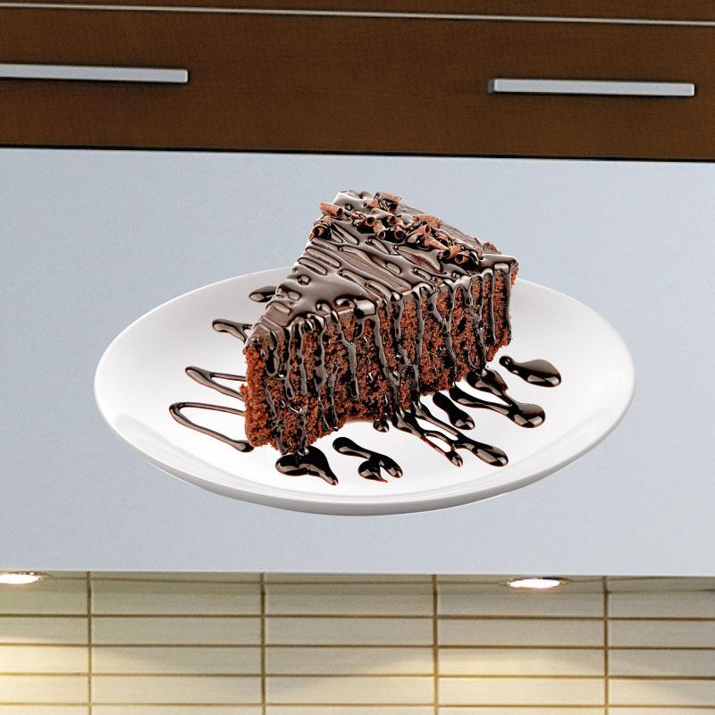 Stickers muraux pour la cuisine sticker pi ce de g teau - Stickers pour la cuisine ...