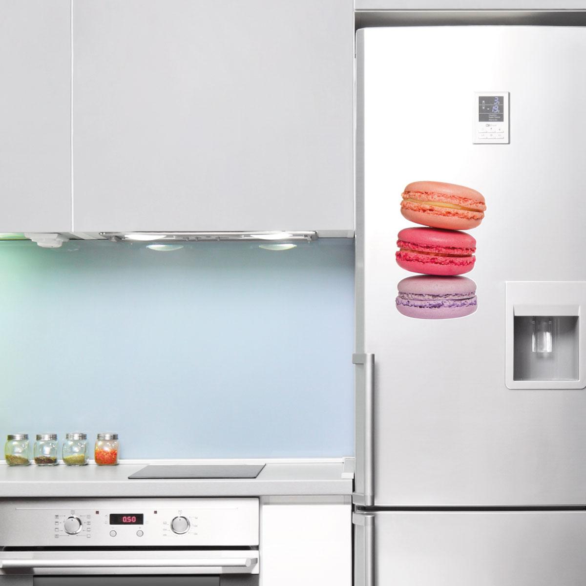 Stickers muraux pour la cuisine sticker tour de macarons - Stickers pour la cuisine ...