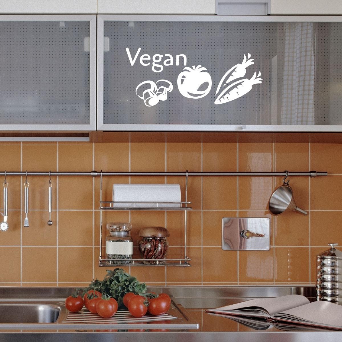 Stickers muraux pour la cuisine sticker v g talien 1 Stickers pour la cuisine