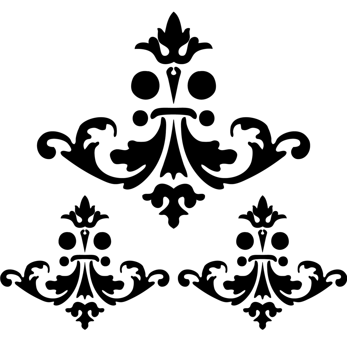 stickers muraux design sticker mural design lustre ambiance. Black Bedroom Furniture Sets. Home Design Ideas