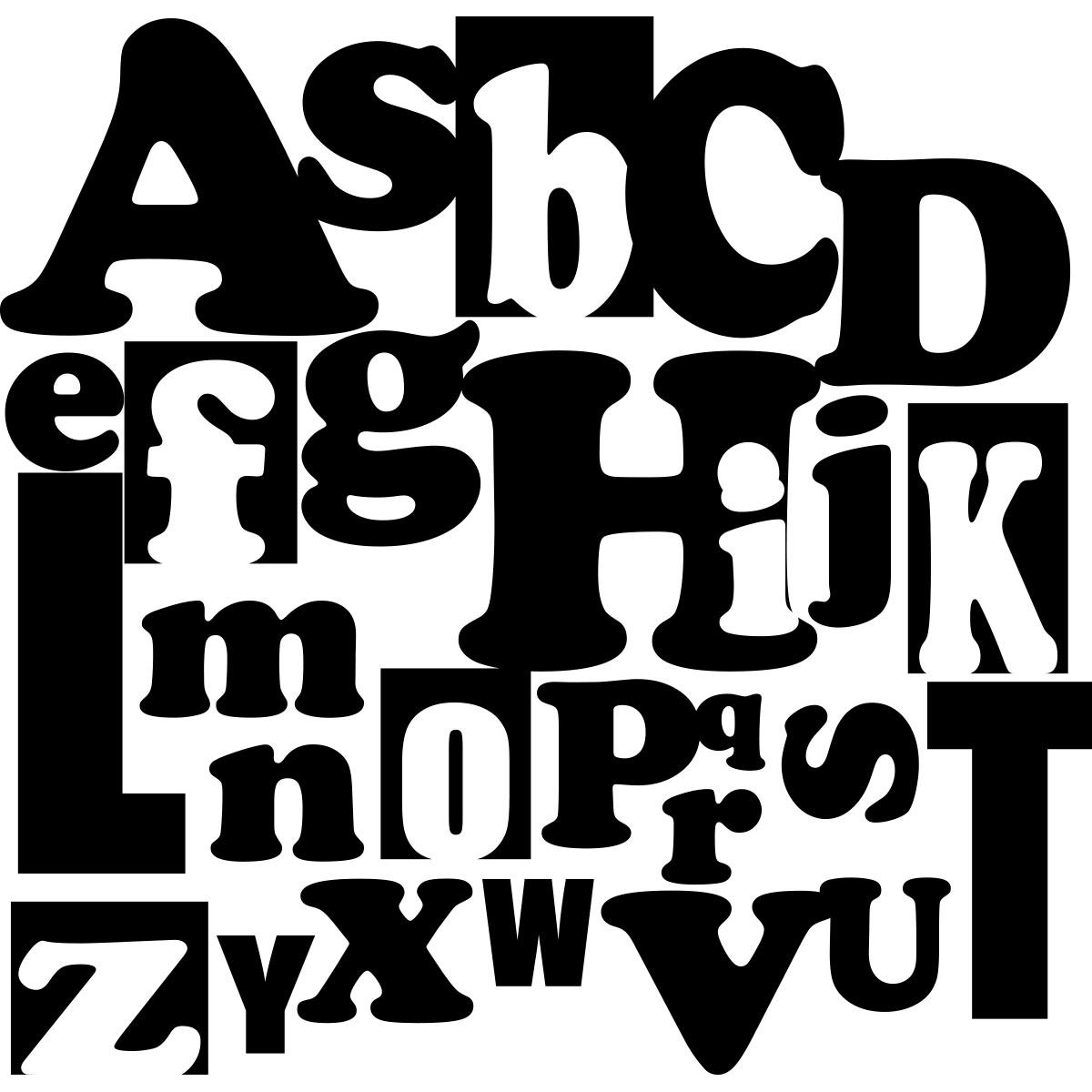 sticker design alphabet stickers citations enfants ambiance sticker. Black Bedroom Furniture Sets. Home Design Ideas