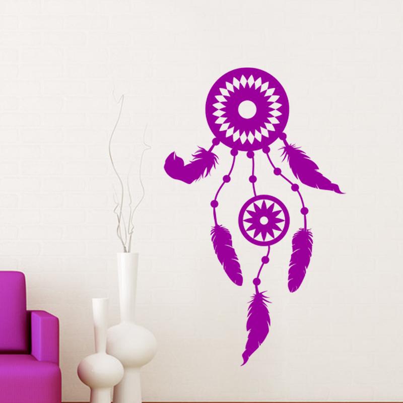 sticker design attrapeur de r ves stickers chambre ado fille ambiance sticker. Black Bedroom Furniture Sets. Home Design Ideas