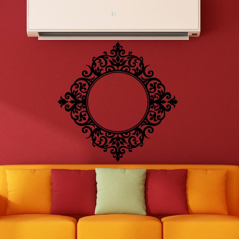 sticker design baroque miroir stickers art et design bulles et cercles ambiance sticker. Black Bedroom Furniture Sets. Home Design Ideas