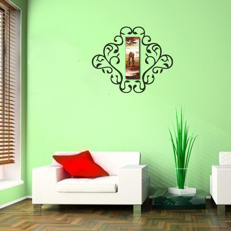 Stickers muraux design sticker mural design cadre for Cadre mural design