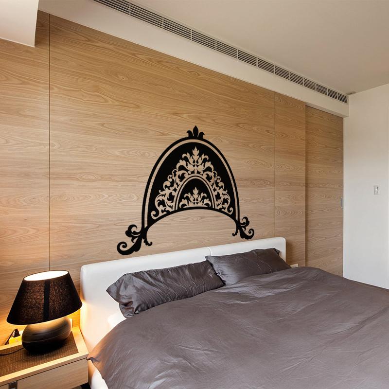 sticker design couronne royale stickers chambre t tes de lit ambiance sticker. Black Bedroom Furniture Sets. Home Design Ideas