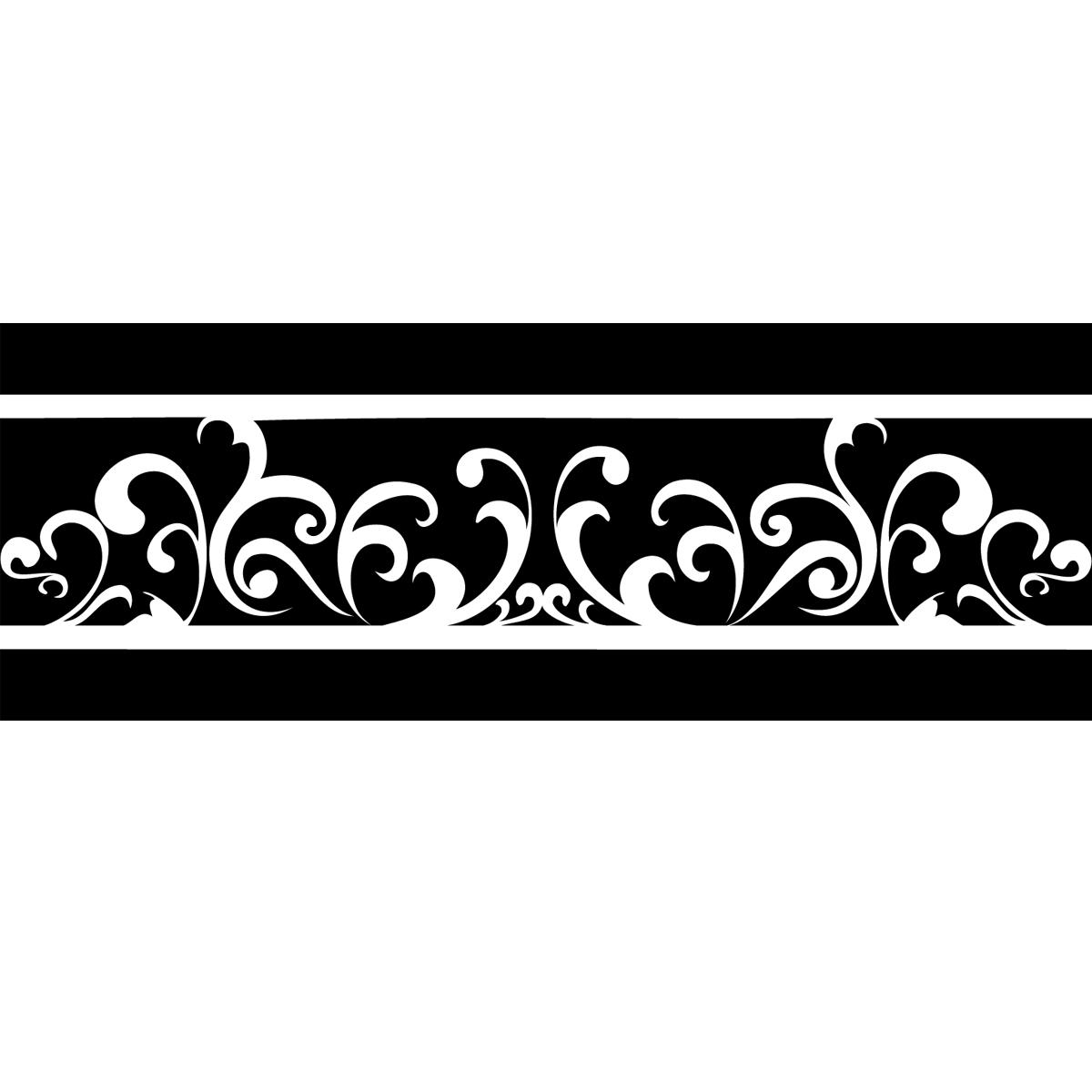 stickers muraux design sticker mural design floral. Black Bedroom Furniture Sets. Home Design Ideas