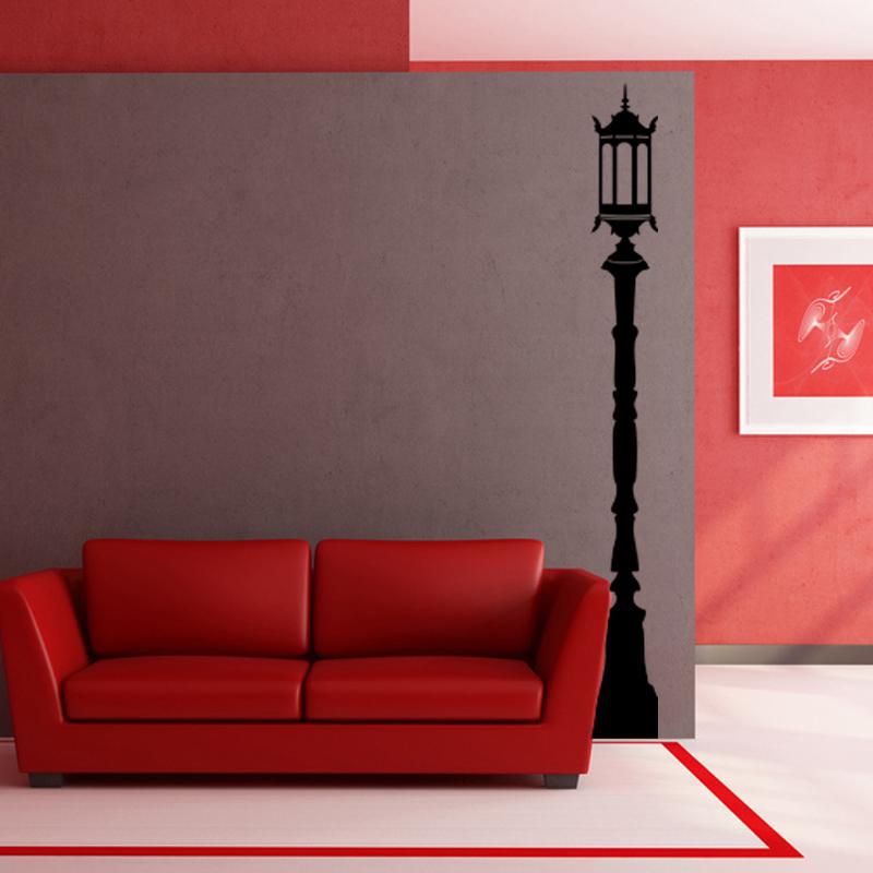 sticker design lampadaire stickers villes et voyages paris ambiance sticker. Black Bedroom Furniture Sets. Home Design Ideas