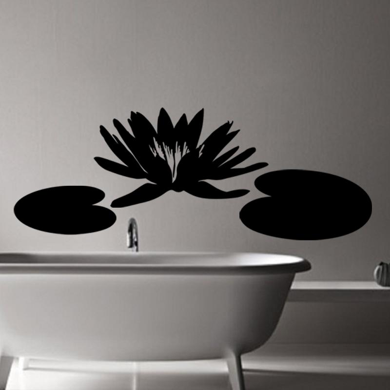 stickers muraux pour salle de bain sticker design n nuphar ambiance. Black Bedroom Furniture Sets. Home Design Ideas