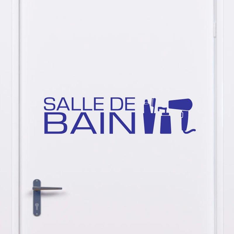 sticker design salle de bain accessoires stickers portes. Black Bedroom Furniture Sets. Home Design Ideas