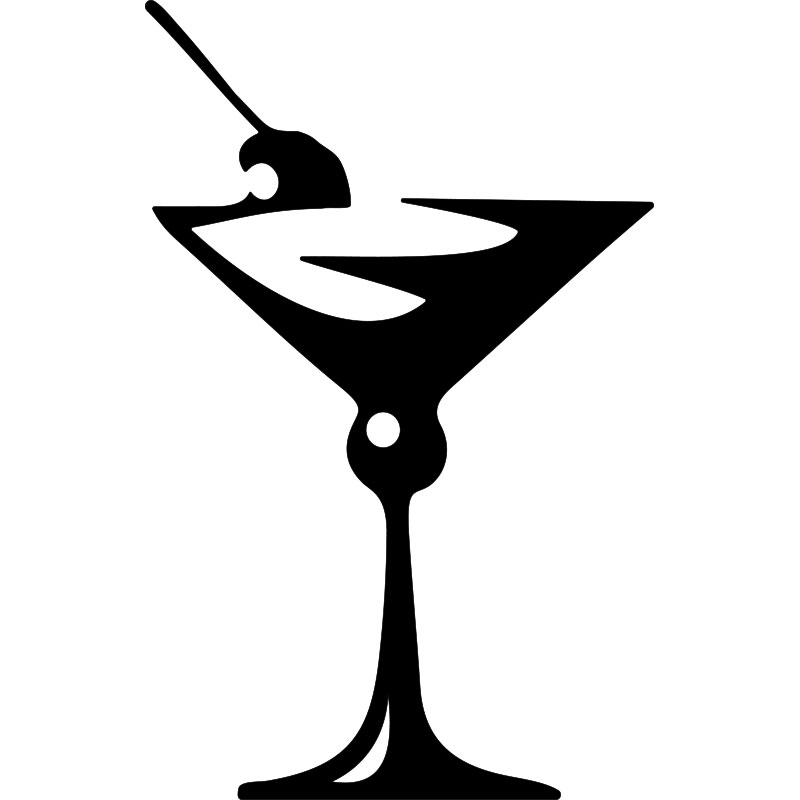sticker design verre d 39 ap ritif stickers cuisine cocktails ambiance sticker. Black Bedroom Furniture Sets. Home Design Ideas