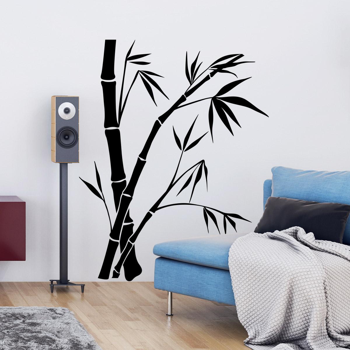 Stickers Muraux Bambou ~ Toutes les Idées Sur la Décoration ...