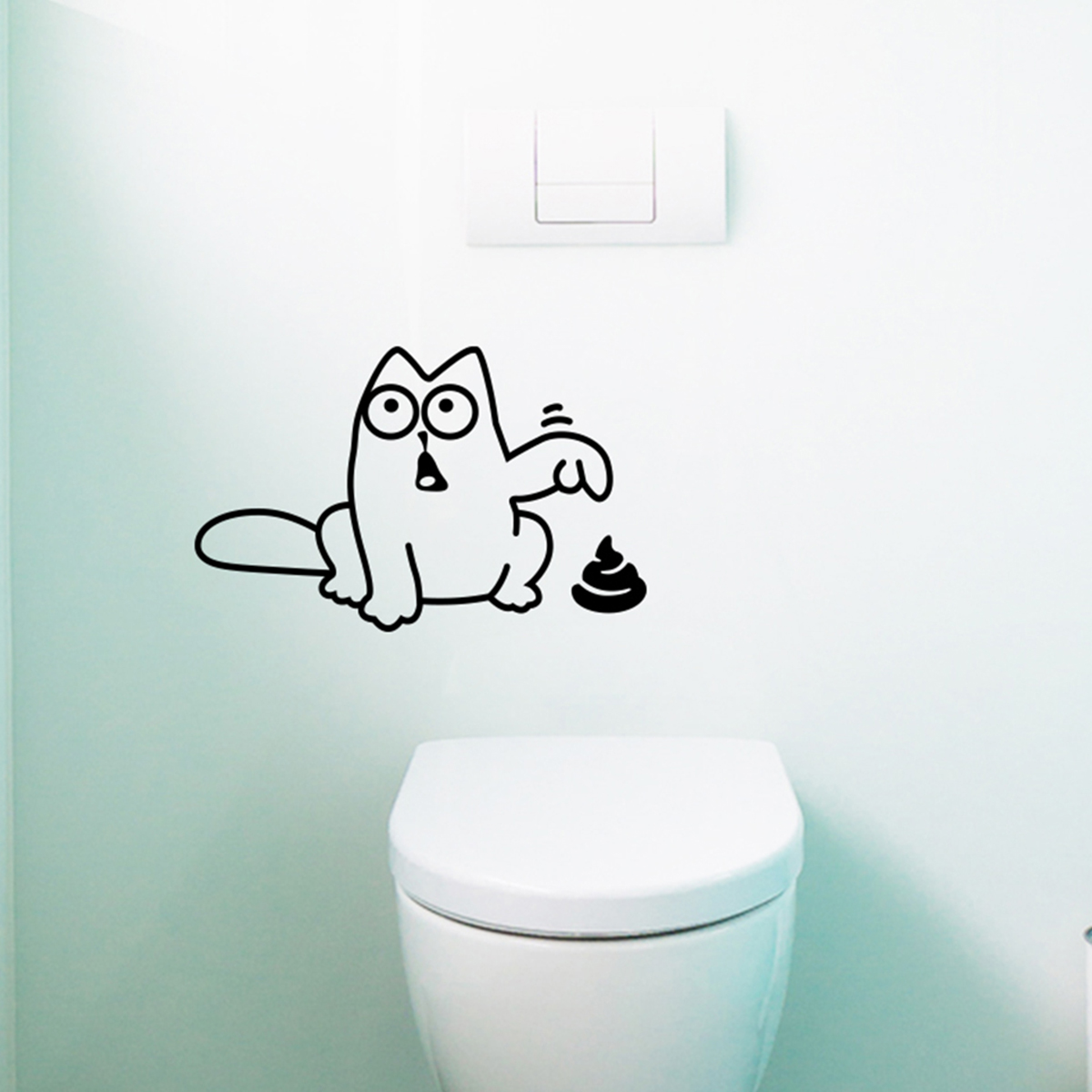 Stickers Abattants Wc Sticker Abattant Toilettes Ambiance Sticker