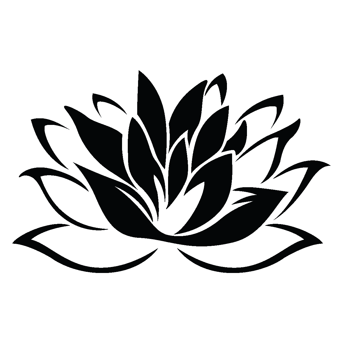 Beliebt Stickers muraux fleurs - Sticker Fleur de lotus | Ambiance-sticker.com TG49
