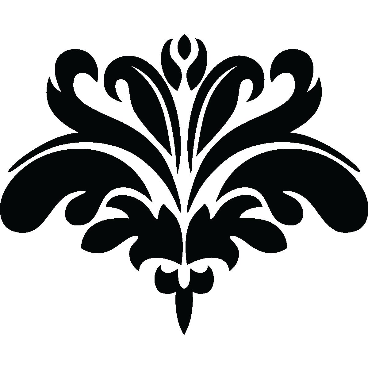stickers muraux design sticker mural fleur fantastique ambiance. Black Bedroom Furniture Sets. Home Design Ideas