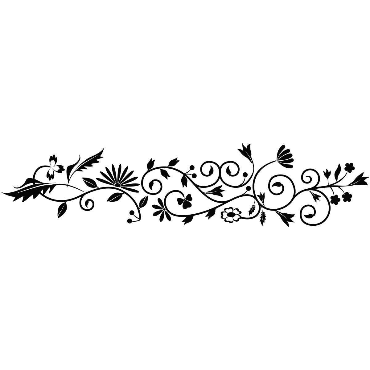 sticker fleurs et plantes d coration stickers nature. Black Bedroom Furniture Sets. Home Design Ideas
