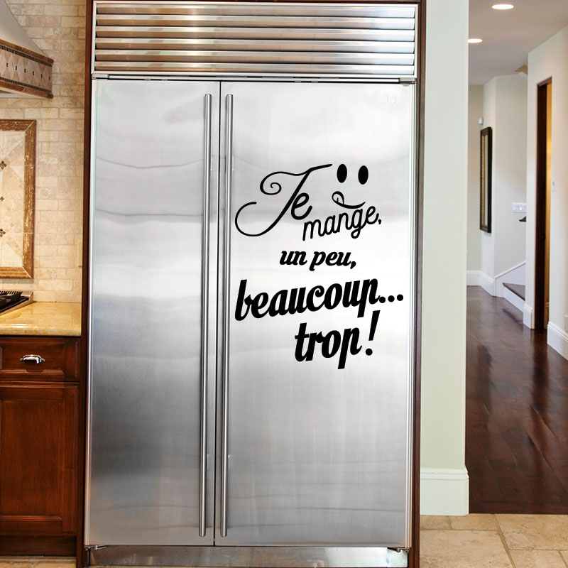 sticker magnetique pour frigo perfect free pour idees de deco de cuisine frache meuble cuisine. Black Bedroom Furniture Sets. Home Design Ideas