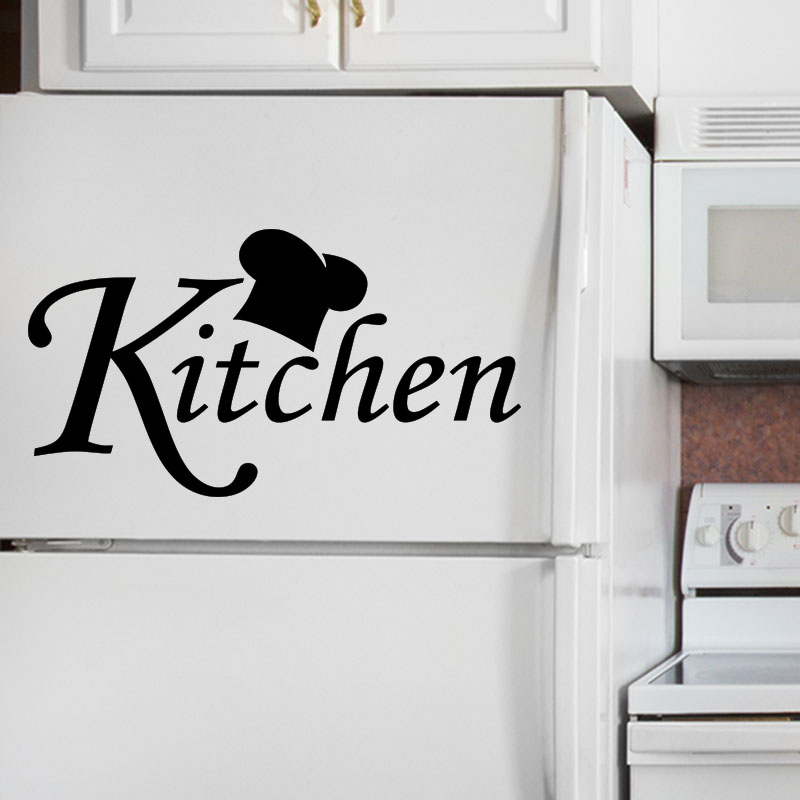 sticker frigo citation kitchen stickers cuisine. Black Bedroom Furniture Sets. Home Design Ideas