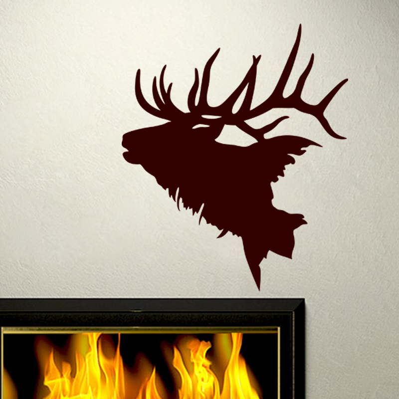 sticker grand cerf bramant stickers animaux chevaux ambiance sticker. Black Bedroom Furniture Sets. Home Design Ideas