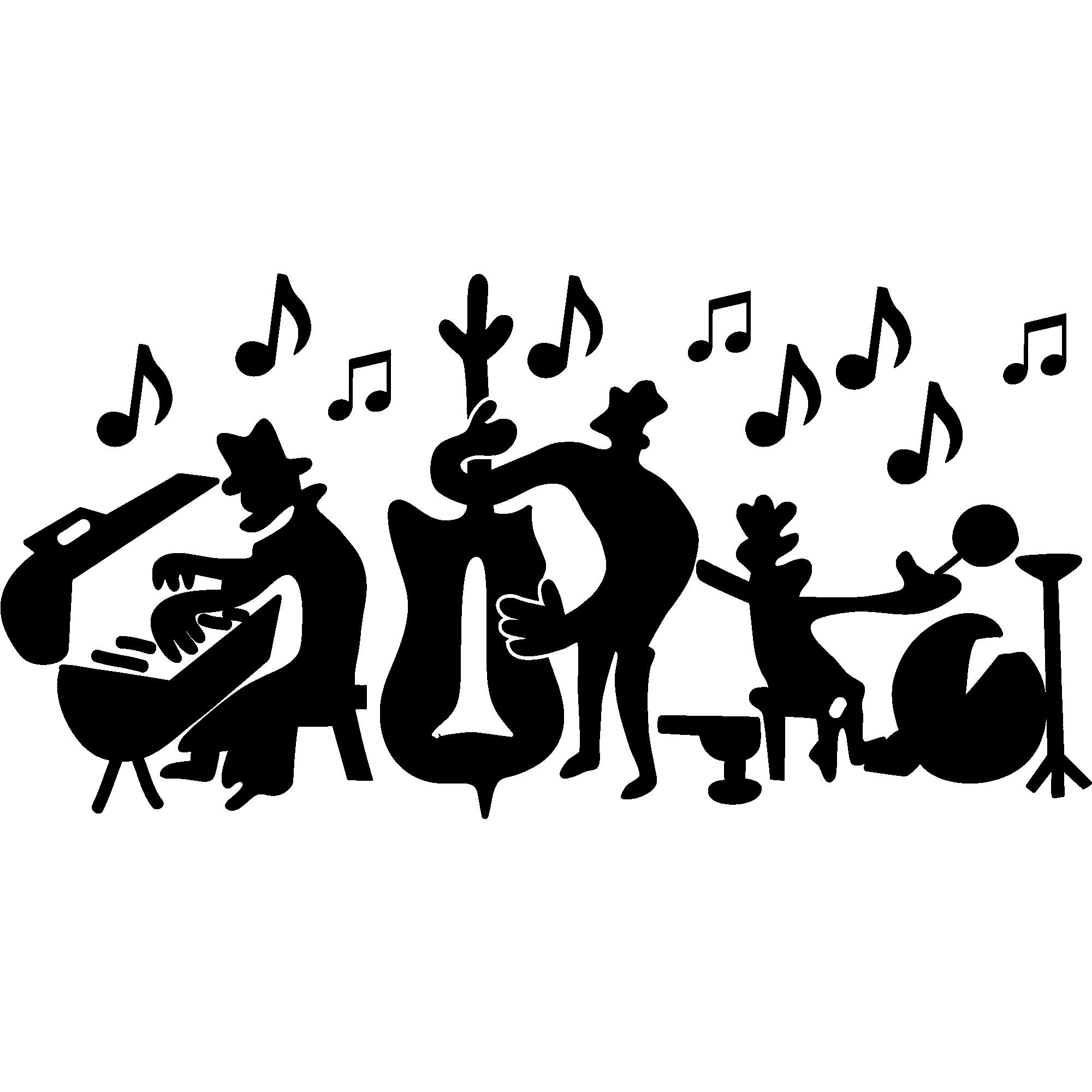 Sticker Groupe de musique – Stickers Musique & Cinema Musique