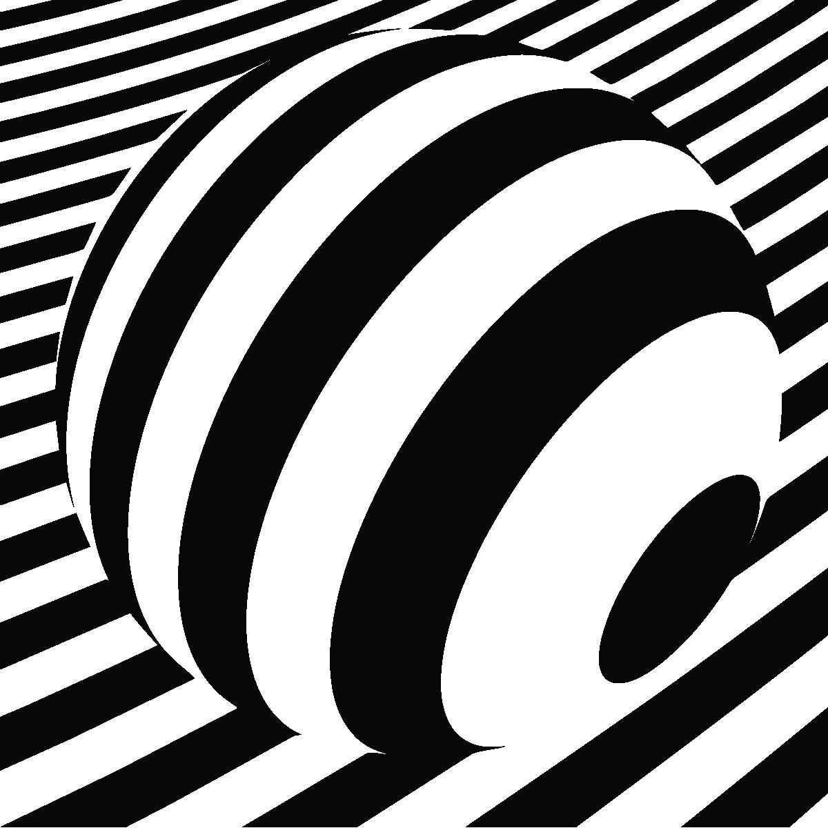 stickers muraux design sticker mural illusion d 39 optique 2 ambiance. Black Bedroom Furniture Sets. Home Design Ideas