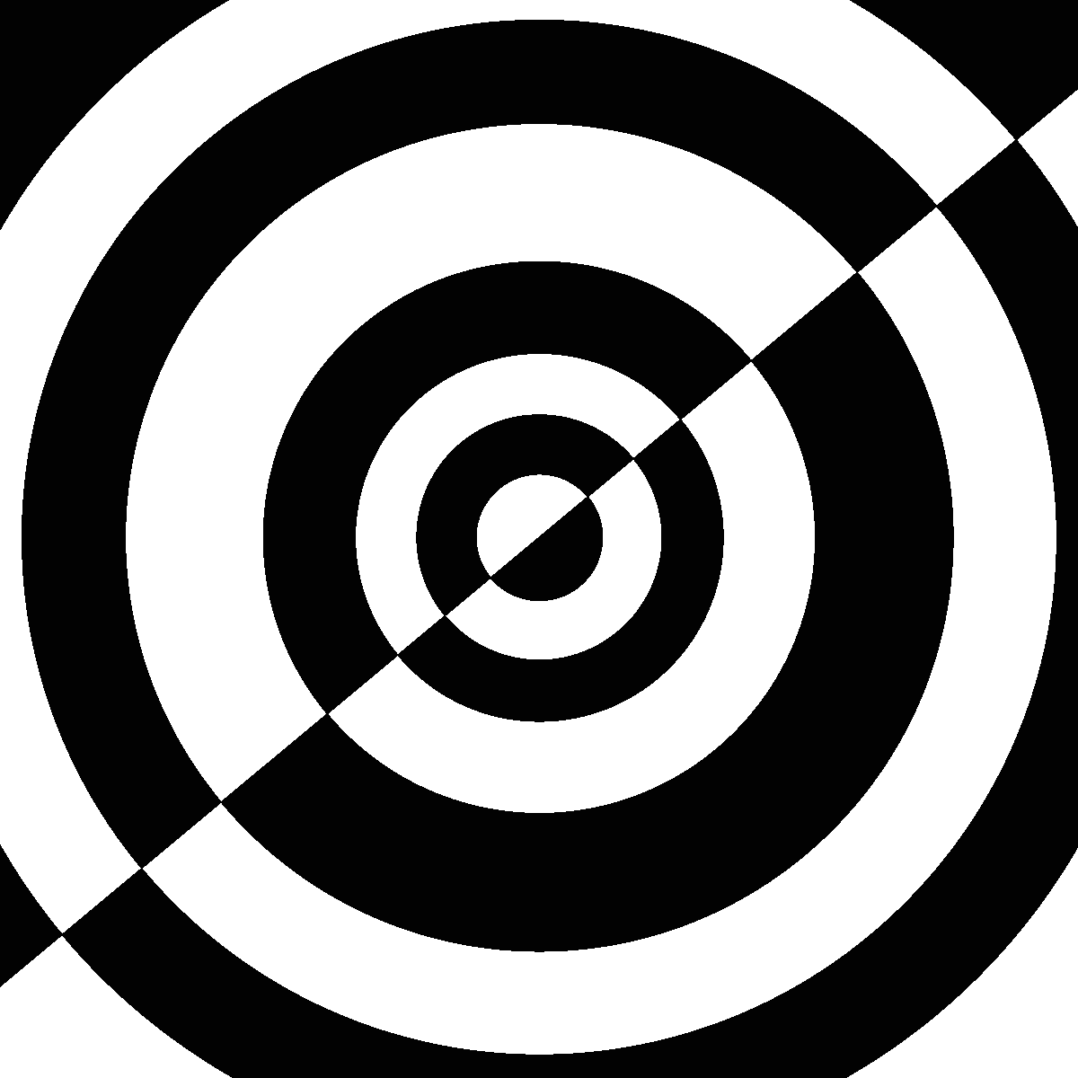 Stickers muraux design sticker mural illusion d 39 optique 6 ambiance - Illusion optique dessin ...