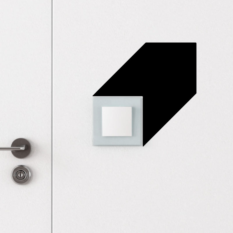 sticker interrupteur design stickers mini stickers fun. Black Bedroom Furniture Sets. Home Design Ideas