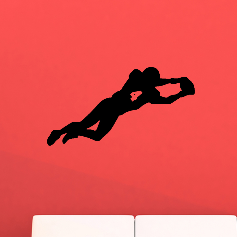 Stickers muraux sport et football sticker rugby player for Interieur sport rugby