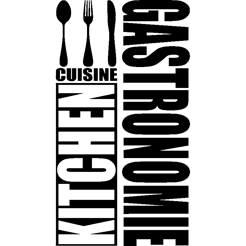 Sticker Kitchen Cuisine Gastonomie Stickers Cuisine