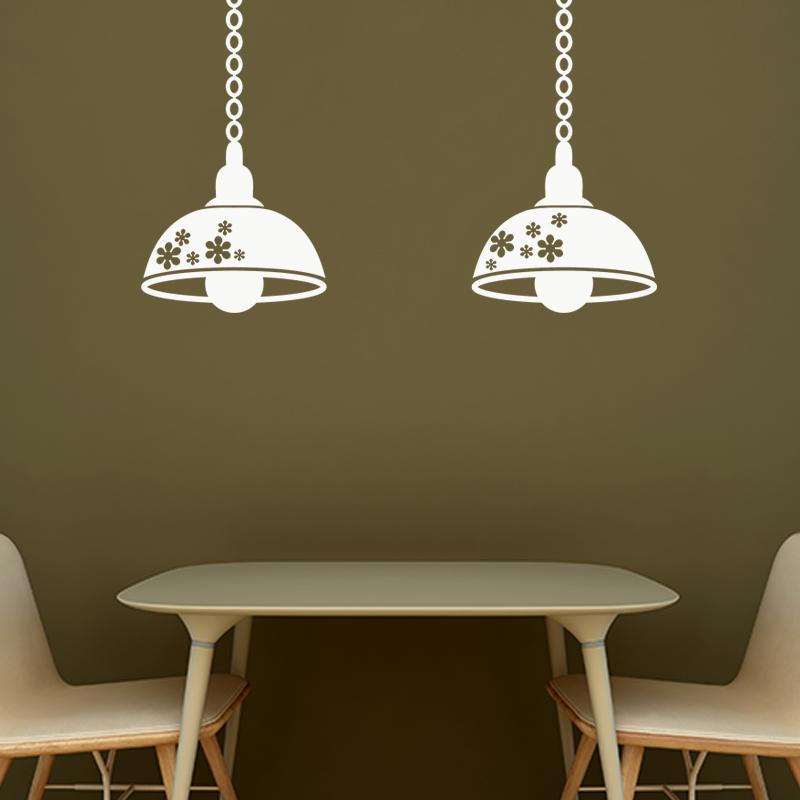 Sticker lampes industrielles suspendues stickers art et for Industrielles design