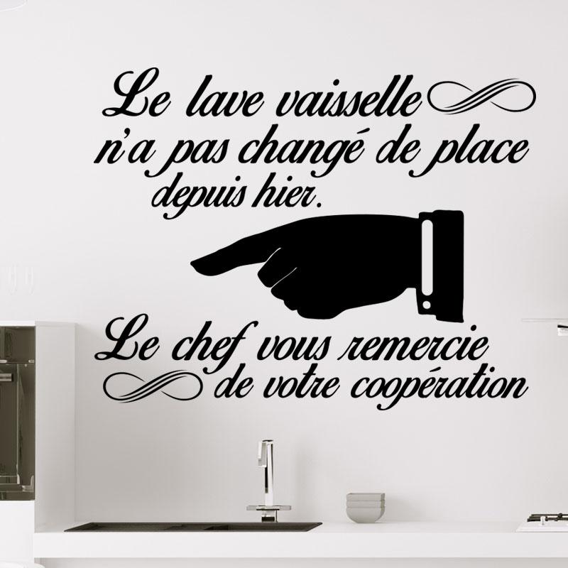 Sticker le lave vaisselle n 39 a pas chang de place depuis for Stickers pour lave vaisselle