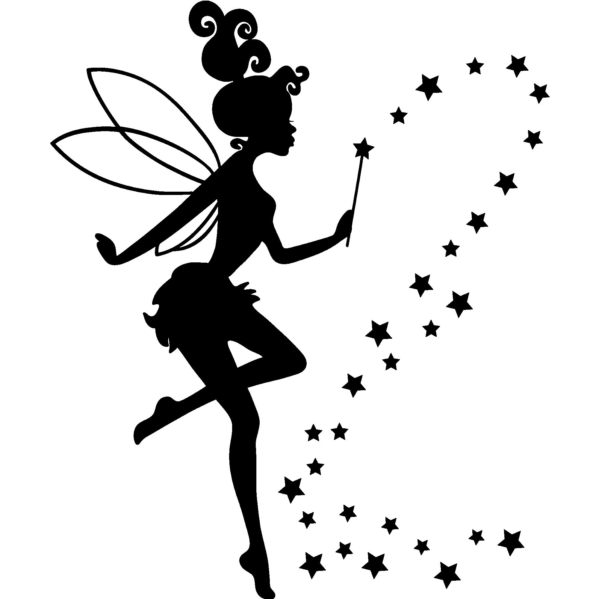 Sticker Mademoiselle la fée – Stickers Filles Fées Ambiance sticker