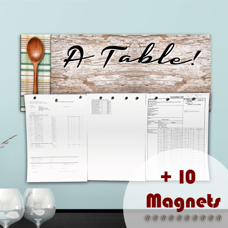 Sticker magn tique sticker papier peint magn tique table ambiance stic - Table a papier peint ...