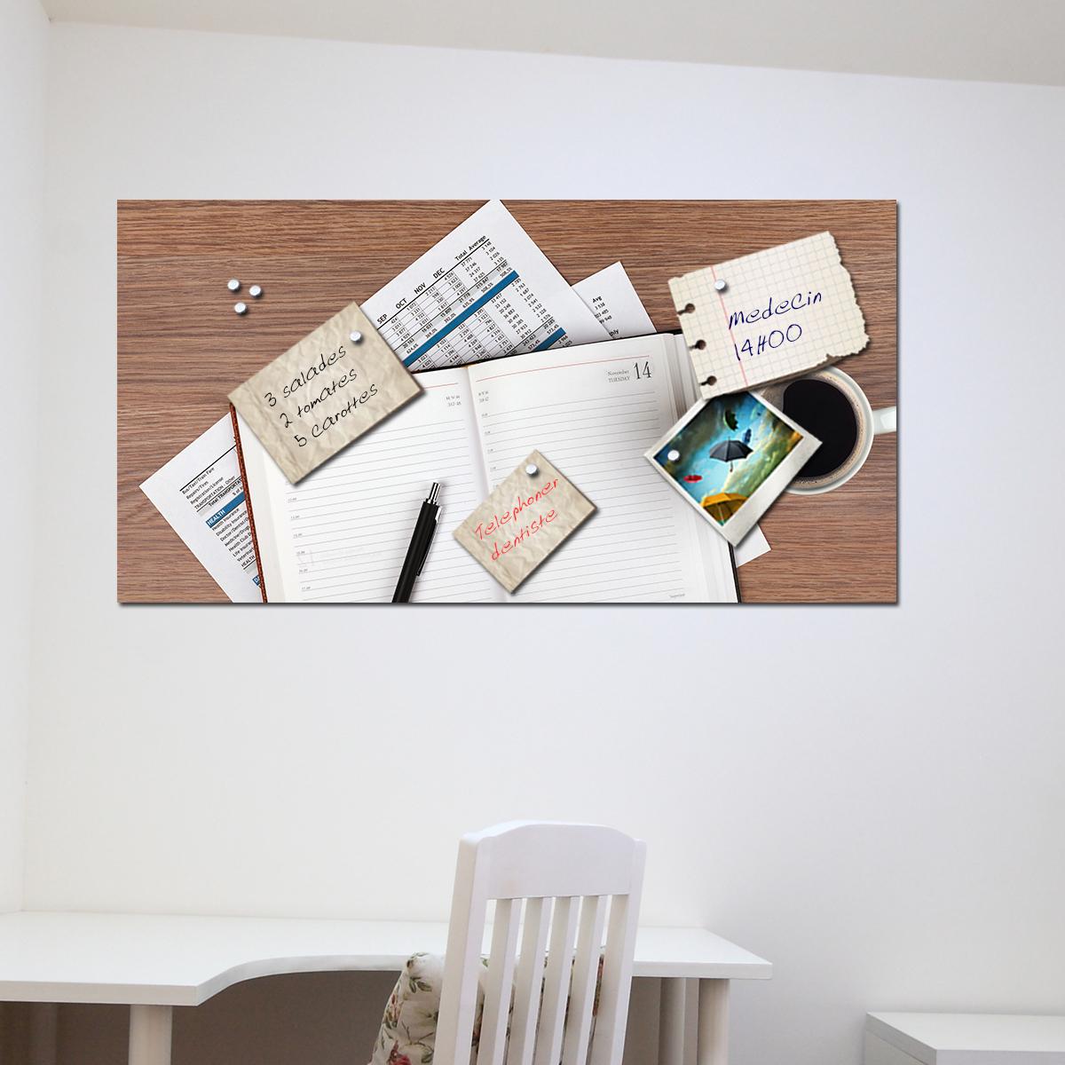 papier peint magn tique sticker papier peint magn tique agenda ambiance. Black Bedroom Furniture Sets. Home Design Ideas