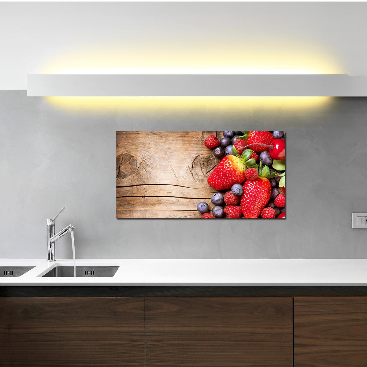 papier peint magn tique sticker papier peint magn tique fruits ambiance. Black Bedroom Furniture Sets. Home Design Ideas