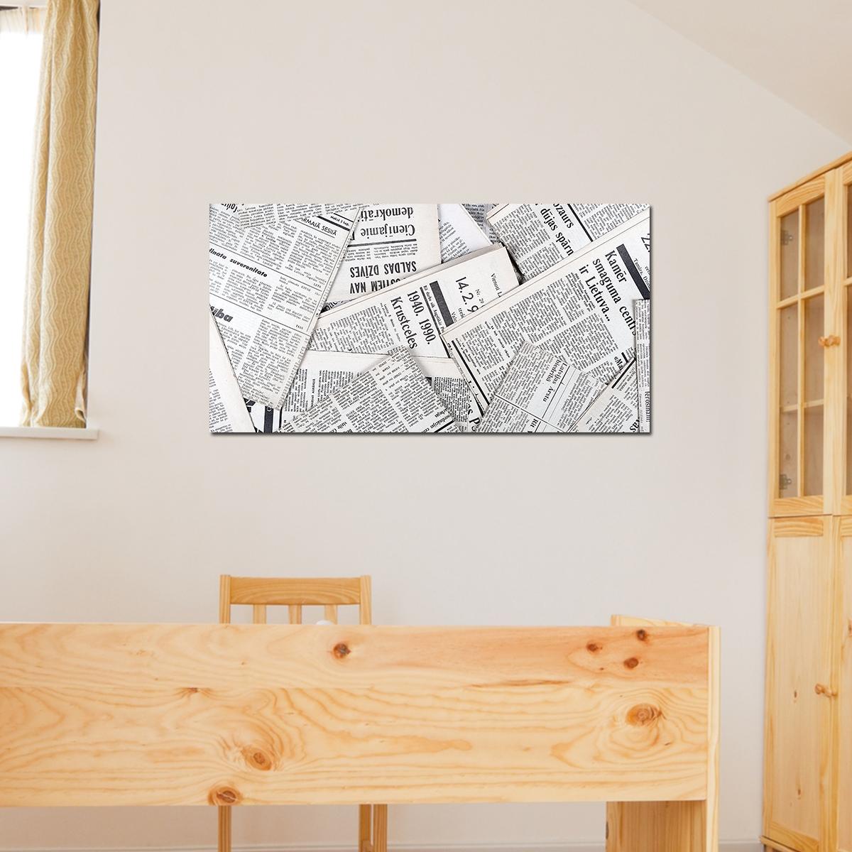 papier peint magn tique sticker papier peint magn tique journal ambiance. Black Bedroom Furniture Sets. Home Design Ideas