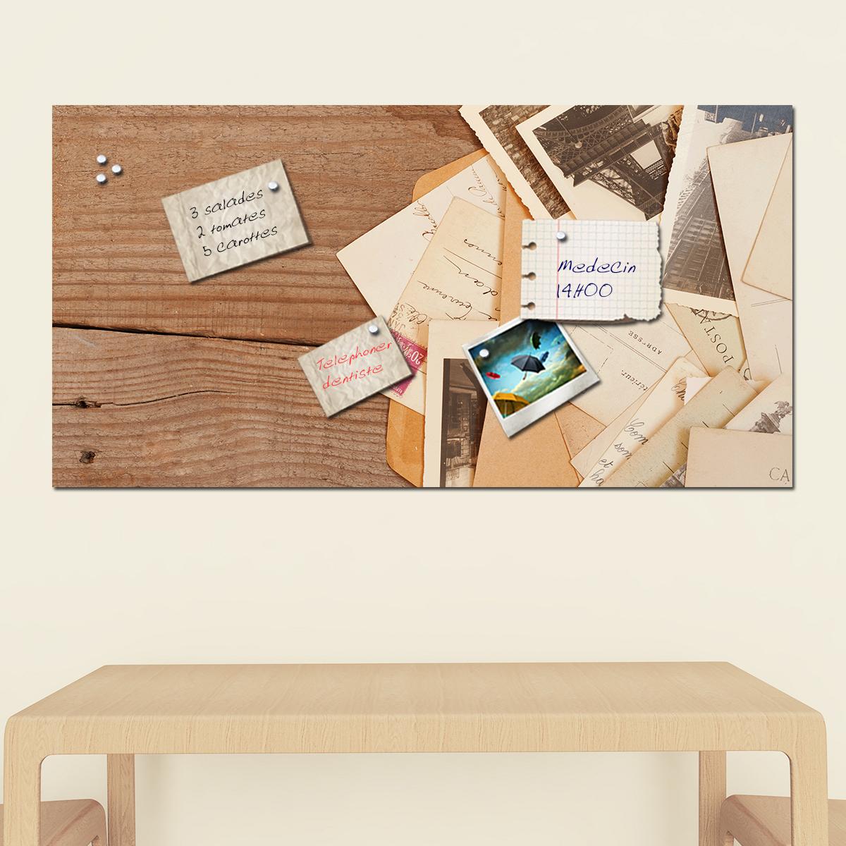 papier peint magn tique sticker papier peint magn tique lettres ambiance. Black Bedroom Furniture Sets. Home Design Ideas