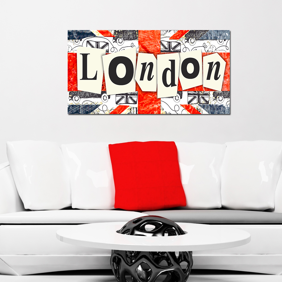 papier peint magn tique sticker papier peint magn tique london ambiance. Black Bedroom Furniture Sets. Home Design Ideas