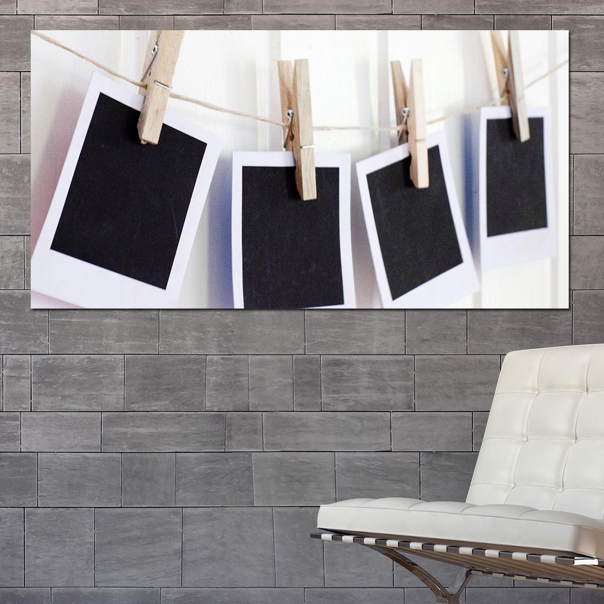 papier peint magn tique sticker papier peint magn tique polaroid ambiance. Black Bedroom Furniture Sets. Home Design Ideas