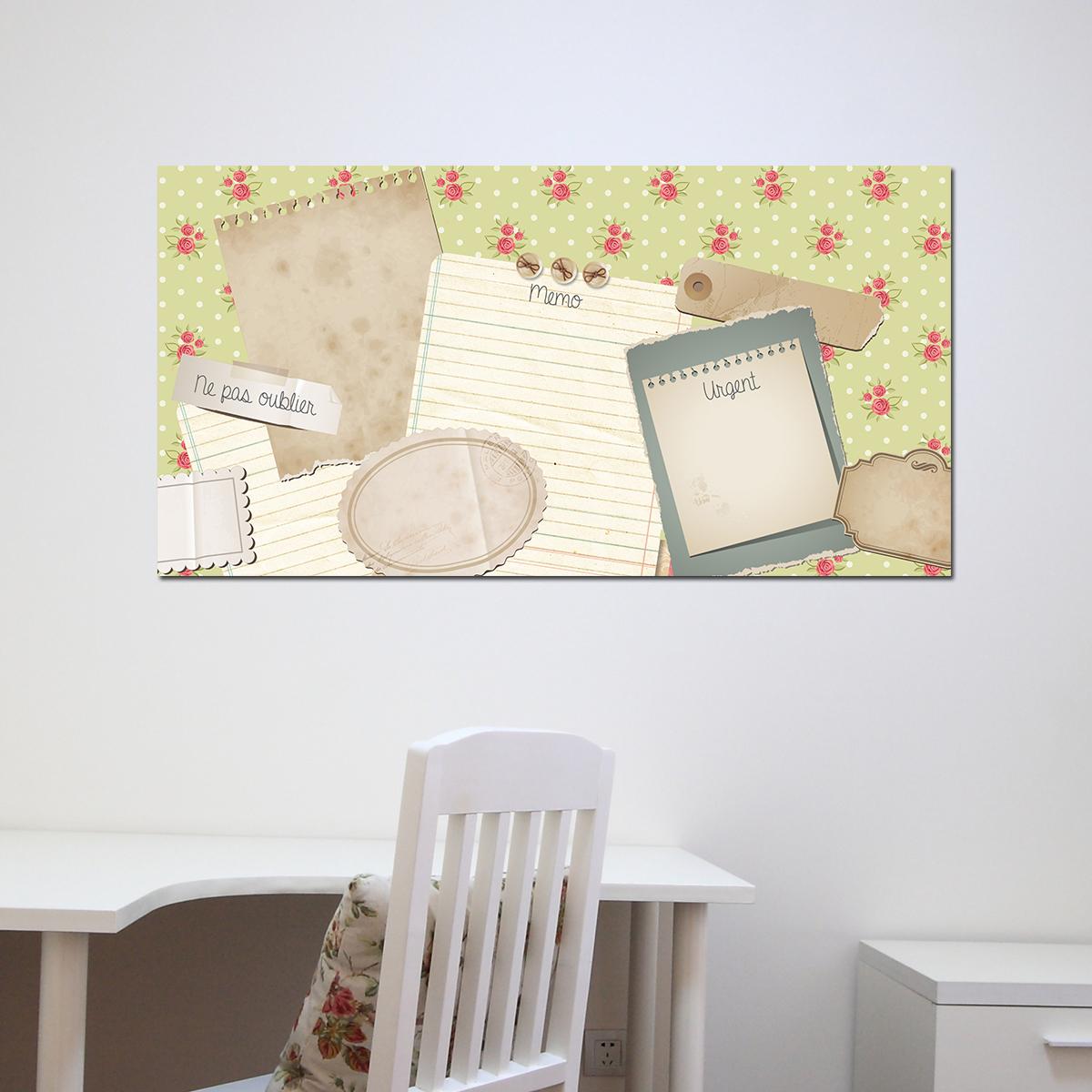 papier peint magn tique sticker papier peint magn tique scrapbook ambiance. Black Bedroom Furniture Sets. Home Design Ideas