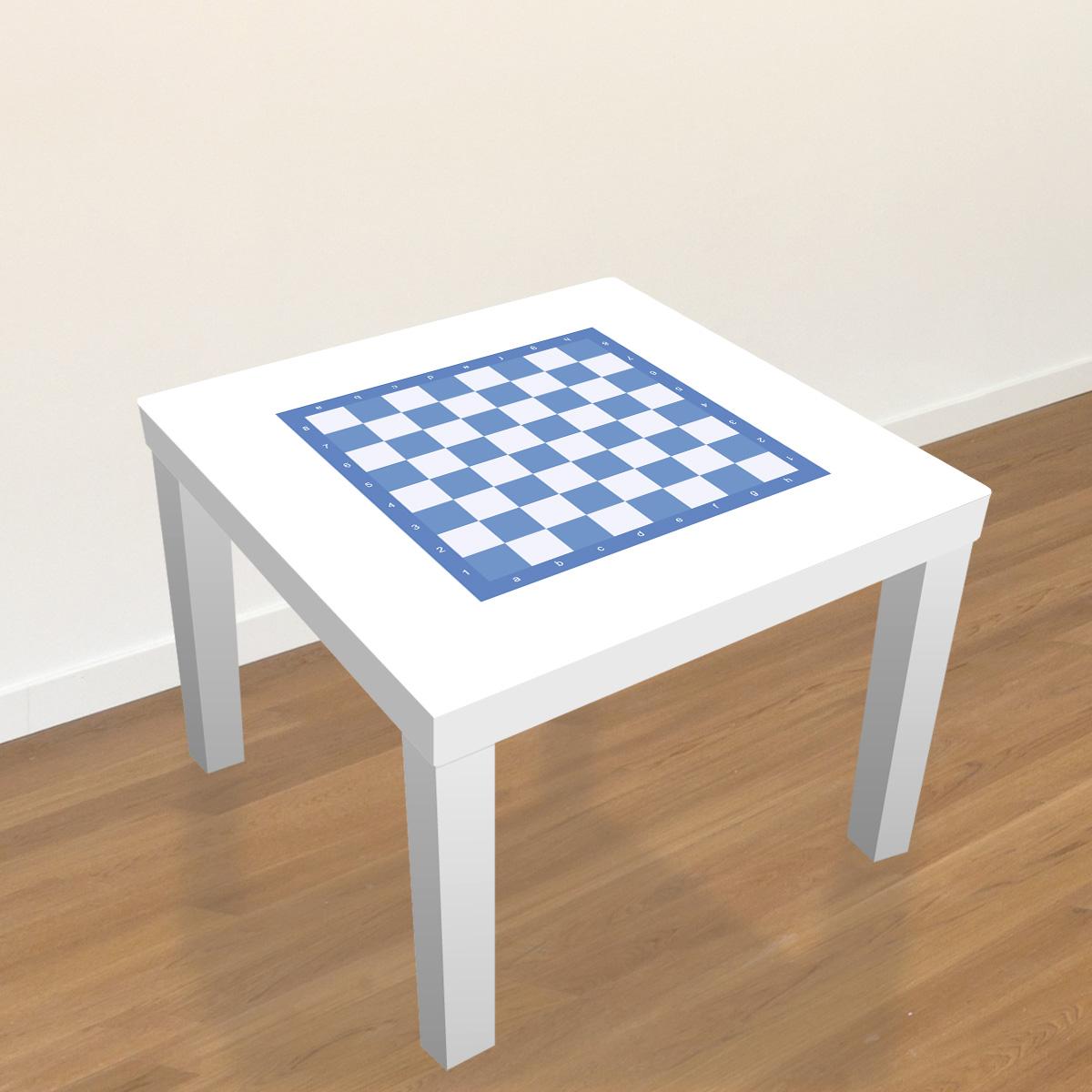 stickers meubles ikea stickers meubles ikea echiquier en bleu ambiance. Black Bedroom Furniture Sets. Home Design Ideas
