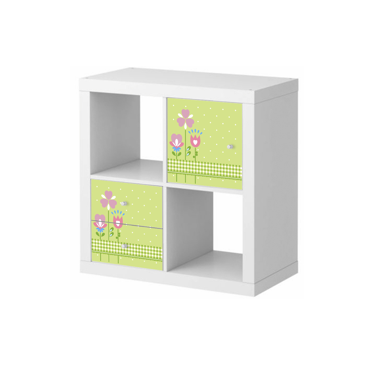 stickers meubles ikea stickers meubles ikea fleurs sur le pr vert ambiance. Black Bedroom Furniture Sets. Home Design Ideas