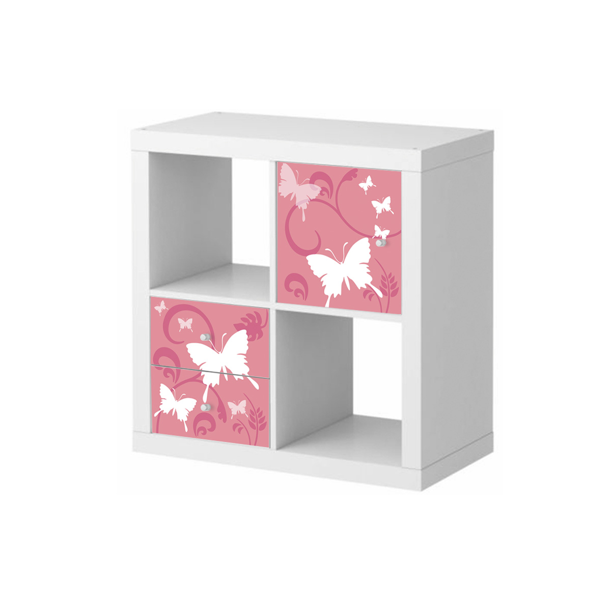 Stickers meubles ikea stickers meubles ikea papillon prairie 2 ambiance - Stickers ikea meuble ...